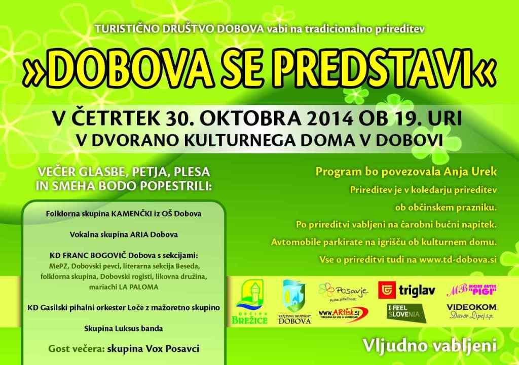 DOBOVA SE PREDSTAVI 2014