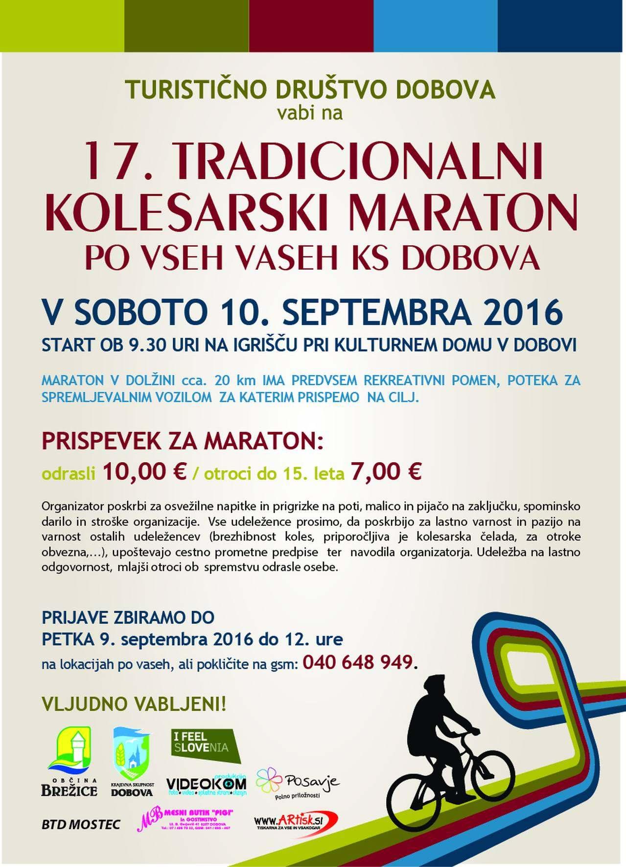 LETAK kolesarski maraton 2016